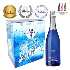 10218407 Val d'Oca - [Full Case] BLUE Prosecco DOC Millesimato Extra Dry 750ml x 6
