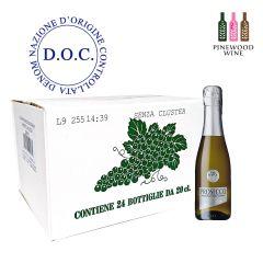 10218409 Val d'Oca - [Full Case] BIRILLINI ARGENTO Prosecco DOC Millesimato Extra Dry 200ml x 24