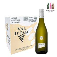 10218422 Val d'Oca - [Full Case] OCABIANCA [White Semi-Sparkling Wine] 750ml x 6