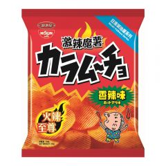 Nissin Koikeya - Karamucho Hot Chilli Flavour Potato Chips[Case Offer] 1041-004-101