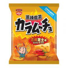Nissin Koikeya - Karamucho Hot Chilli Cheese Flavour Potato Chips[Case Offer] 1041-004-103