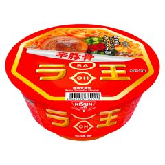 Nissin - RAOH Non Fried Bowl Spicy Tonkotsu Flavour[Case Offer] 1067-004-102