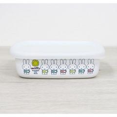 mf19s-l HoneyWare Miffy enamel storage box (L)