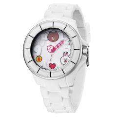 LINE FRIENDS 成人運動型八達通手錶  - All White 122.7303