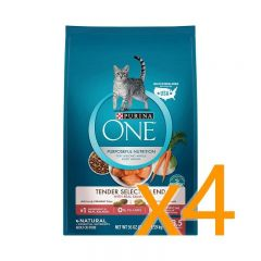 Purina One® - 乾貓糧脆嫩三文魚配方 3.5LB 4袋裝