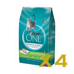 Purina One® - 成貓室內去毛球配方 乾糧 袋裝 3.5lb 4袋裝 12370451_4