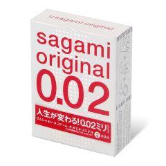 相模原創 0.02 3 片裝 PU 安全套 1336_Sagami
