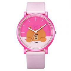 LINE FRIENDS 成人八達通手錶 - Choco Light Pink Strap 142.7808