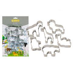 GUARDINI - Theme Cookie Cutter動物造型餅乾模 (6件裝) 15642