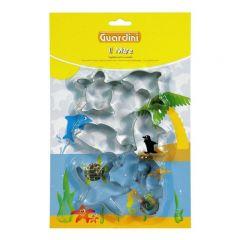 GUARDINI - Theme Cookie Cutter海洋造型餅乾模 (6件裝) 15643