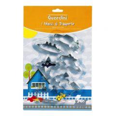 GUARDINI - Theme Cookie Cutter汽車造型餅乾模 (6件裝) 15645
