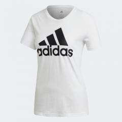 adidas -  Athletic Women Badge of Sport T恤 - 白色