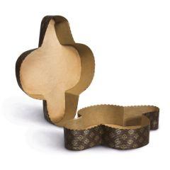 GUARDINI - Easy Bake Set of 2 Colomba Shape Baking Paper Mould 15782