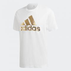 adidas -  Universal Foil T 恤白色
