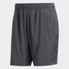 adidas - Men AEROREADY 3-Stripes 8-inch Shorts Grey Six