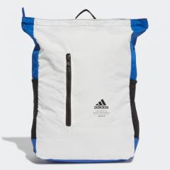 adidas - Classic Top Zip 背囊 - 白色