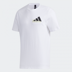 adidas - Men Badge of Sport Graphic T恤 - 白色