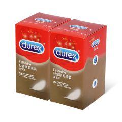 杜蕾斯 - 超薄裝 24 片裝 乳膠安全套 1598_Durex