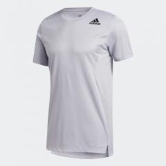 adidas Men Badge of Sports HEAT.RDY 訓練T恤 - 灰色