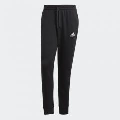 adidas Men Essentials French Terry Tapered Cuff 運動褲黑色