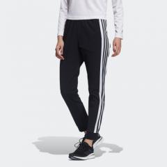 adidas Women 梭織長褲 - 黑色