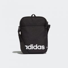 adidas Essentials 標誌斜孭袋黑色