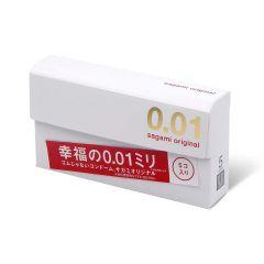 相模原創 0.01 5 片裝 PU 安全套 1647_Sagami