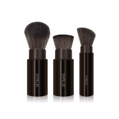 SIXPLUS - 3PCS RETRACTABLE MAKEUP BRUSHES 190012