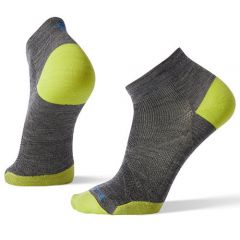 Smartwool - PhD Run Ultra Light Low Cut-Medium Grey 01406 (M/L)  192363173_Mgrey