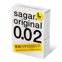 相模原創 0.02 大碼 3 片裝 PU 安全套 1961_Sagami