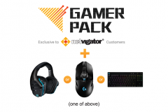 24 months of Gamer Pack Service + ONE Designated Gaming Gear (Available to designated NETVIGATOR broadband service plan customers)