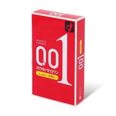 岡本 - 0.01 大碼 (日本版) 3 片裝 PU 安全套 2008_Okamoto