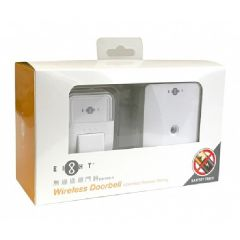 EIGHT - DB-D88-A WIRELESS PLUG-IN DOORBELL WITH P/S 208-40-00001-1