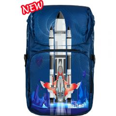 Millton - M-1 (24L) Ergonomic Backpack - Space Fighter 2221898047542