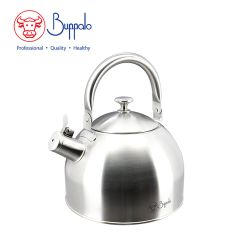 Buffalo - Elegance Premium Plus Stainless Steel Whistling Kettle 4.5L (029004) 29004