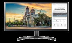 LG 29'' Class 21:9 超寬 FHD IPS HDR10 顯示器 (29WL500)