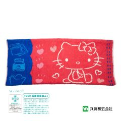 Marushin - Sanrio ® Hello Kitty Towel Pillow Cover (Red) 3005030400