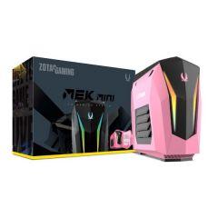 ZOTAC MEK MINI 遊戲桌上型電腦 粉紅限定版 Intel i7/16GB/2TB+ 240GB M.2 SSD/GeForce RTX 2070 (GM2070C701P-BE-W2B)