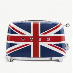 SMEG 2片式復古多士爐 - 英國米字國旗 (TSF01UJUK)