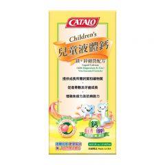 CATALO 兒童液體鈣(鎂+鋅健營配方)474毫升  (09/2020) CATALO3093