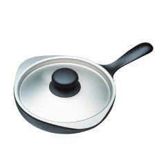 柳宗理 - 16cm 迷你鑄鐵煎盤 (付不鏽鋼蓋) 312530