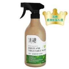 清檜 - 檜木蔬果洗潔精 500ml 314-86-00028-1