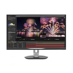 Philips - 32 inch P Line Ultra HD 1.074 Billion Colors LCD Monitor with USB-C Docking 326M6VJRMB M328P6VUBREB