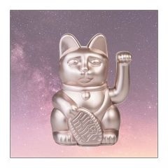 Donkey - Lucky Cat waving Mertails ast. (Metal Rosa) 330439