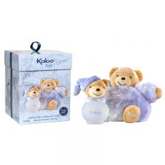 3760048931687 Kaloo + Fluffy Set + Scented Water - 95ml Blue