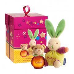 Kaloo - 禮盒 小兔子+花水 - 50ml Pop