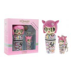 Kokeshi by VA EDT Set - 50ml + 5ml Mini Keyring Cherry 3760048934701