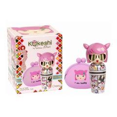 Kokeshi by VA EDT Set - 50ml+Purse Cherry 3760048936286