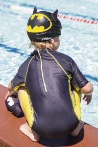 ZOGGS Batman Junior 3D Silicone Cap