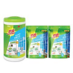 3M™ - General Purpose Disinfecting Wipes + 2 Refills (85pcs x 3) 3M-857HK-S